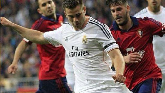 Начо - один из защитников Реал Мадрид ФК!